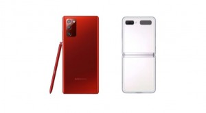 Galaxy Note20 Mystic Red и Galaxy Z Flip 5G Mystic White доступны в США