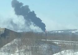 На территории НПЗ горели нефтепродукты