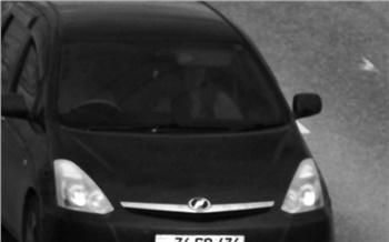 В Красноярске задержали машину с иностранными номерами и почти сотней неоплаченных штрафов