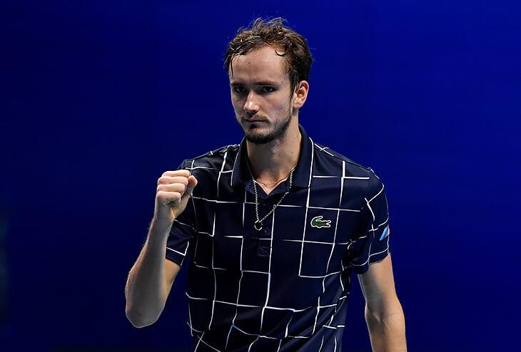 Медведев – в финале итогового турнира АТР