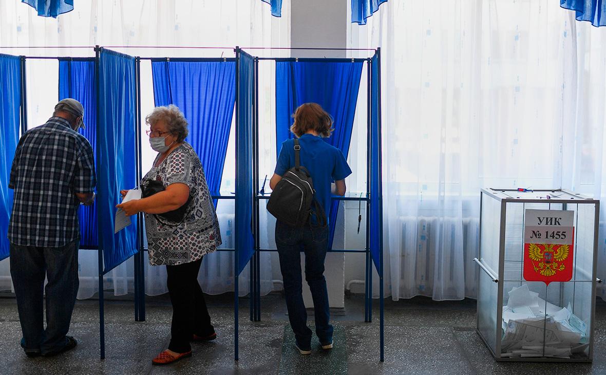 Явка на голосовании по Конституции превысила 55%