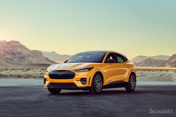 Представлен электромобиль Ford Mustang Mach-E GT Performance, конкурент Tesla Model Y Performance (2 фото)