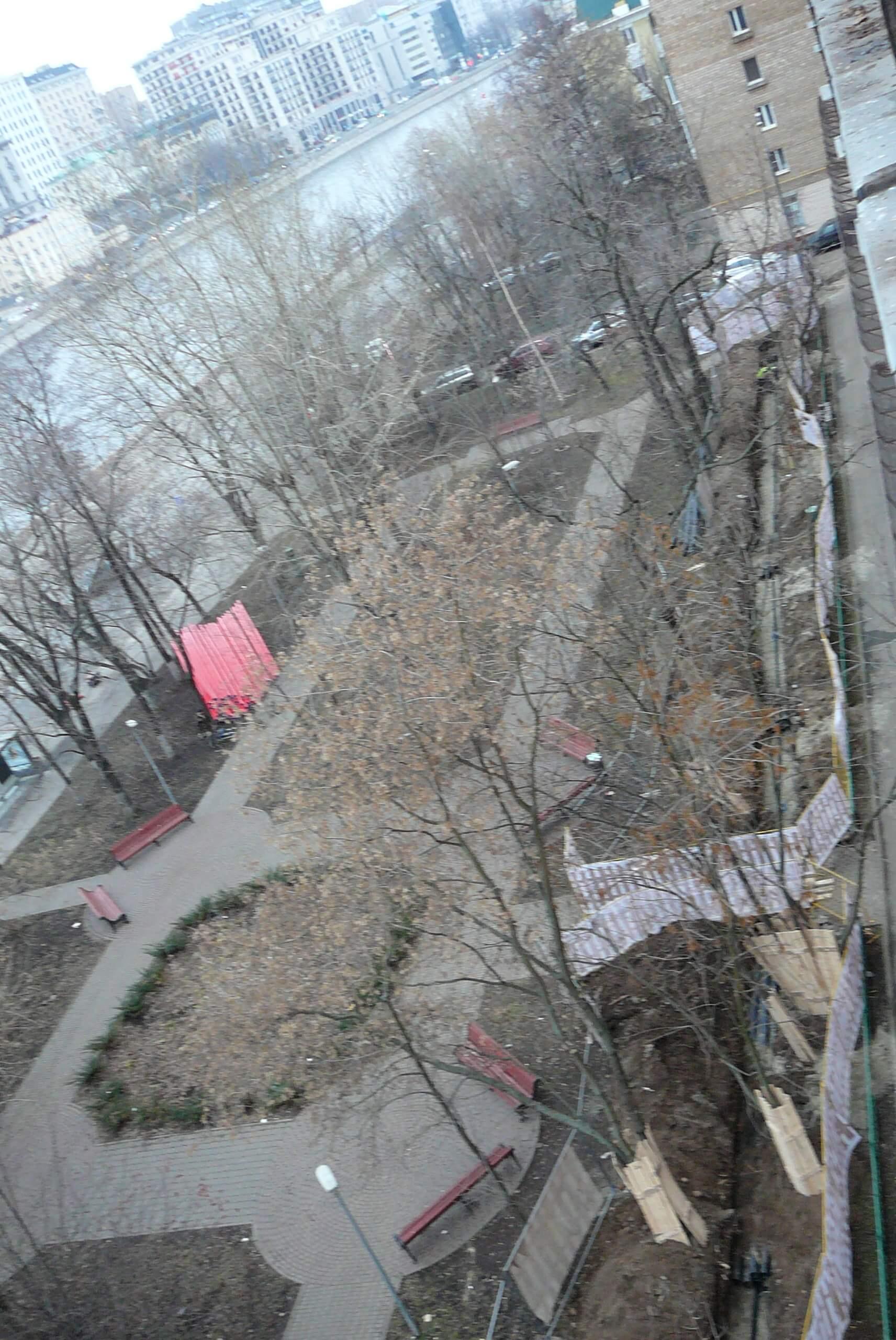 Жители Замоскворечья в ужасе от ремонта своего района