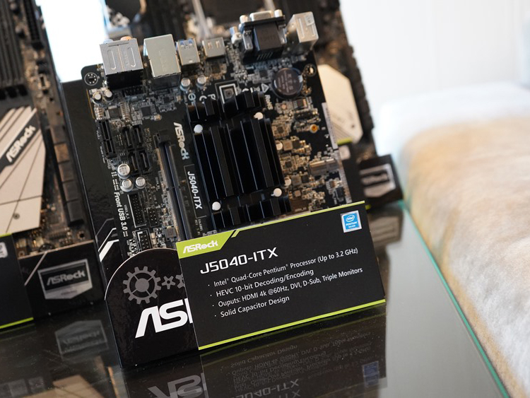 Плата ASRock J5040-ITX на платформе Intel Gemini Lake Refresh обойдётся в $120