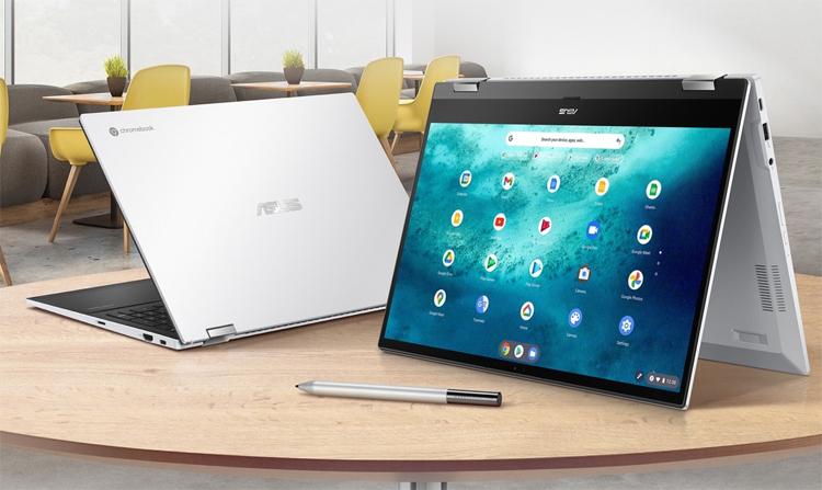 Представлен мощный гибридный ноутбук ASUS Chromebook Flip CX5 с автономностью до 12 часов