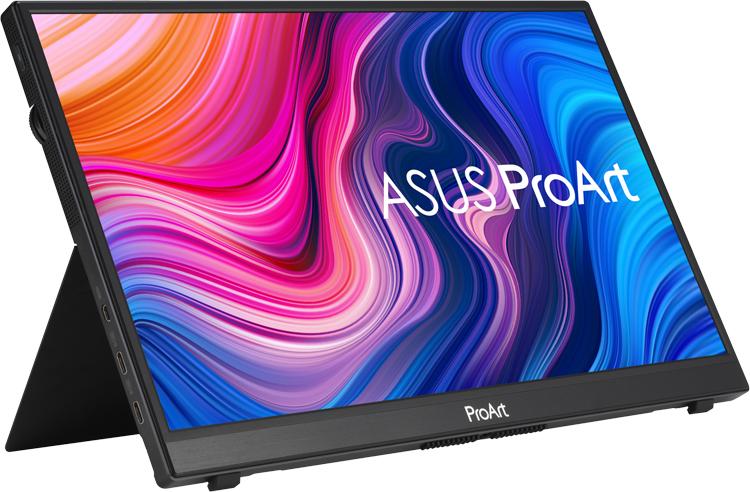 ASUS представила портативный сенсорный 14-дюймовый дисплей ProArt PA148CTV для профессионалов