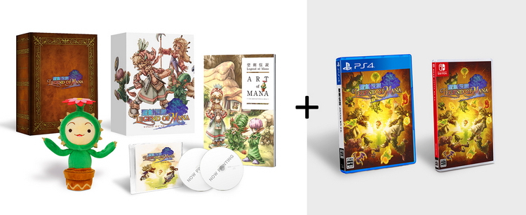Square Enix перевыпустит ремастер Legend of Mana на ПК, PlayStation 4 и Nintendo Switch