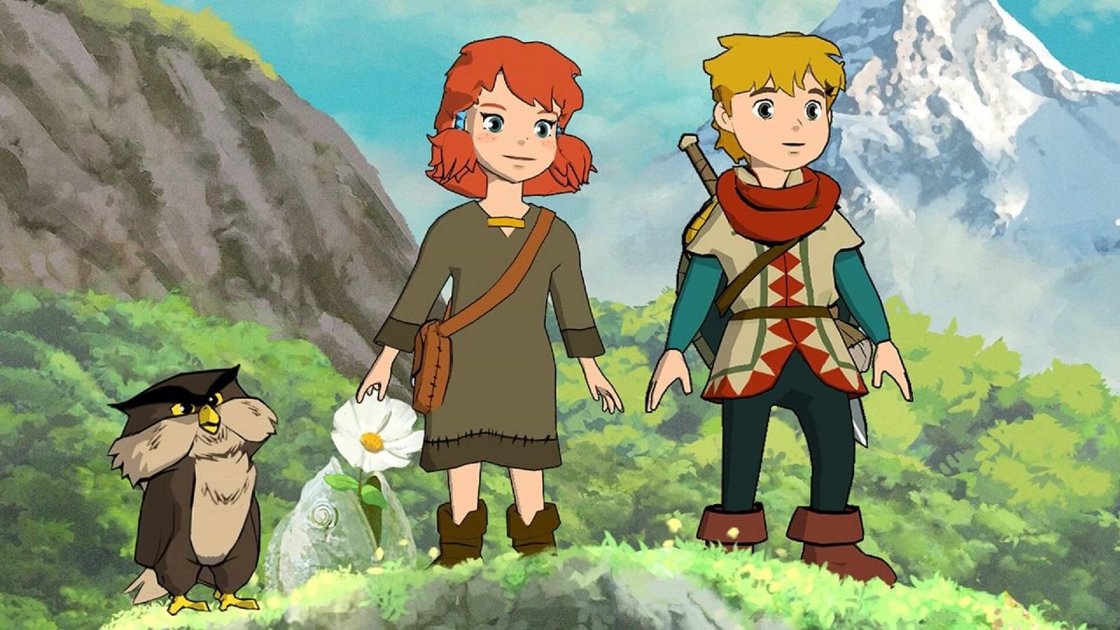 Приключенческий экшен Baldo: The Guardian Owls в стиле мультфильмов Ghibli получил 13-минутный геймплейный ролик