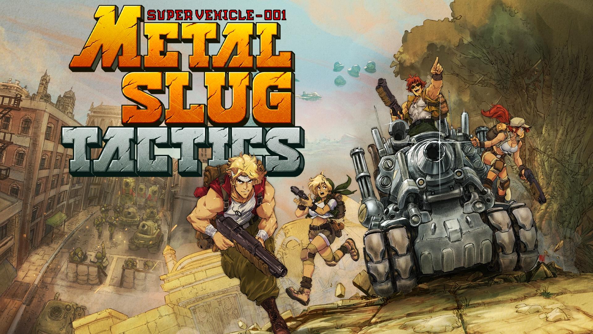 Metal Slug возвращается: анонсирована тактическая RPG Metal Slug Tactics от издателя Streets of Rage 4