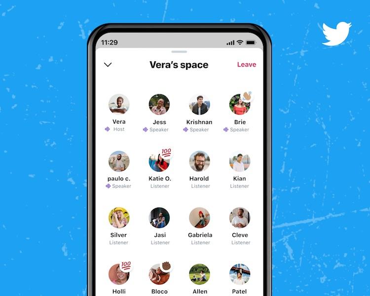 Twitter добавит в аудиочаты Spaces голосовые эффекты
