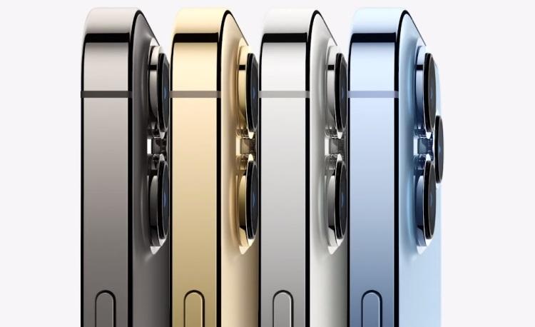 Представлены iPhone 13 Pro и 13 Pro Max — 120-Гц дисплеи, улучшенные камеры и новые цвета