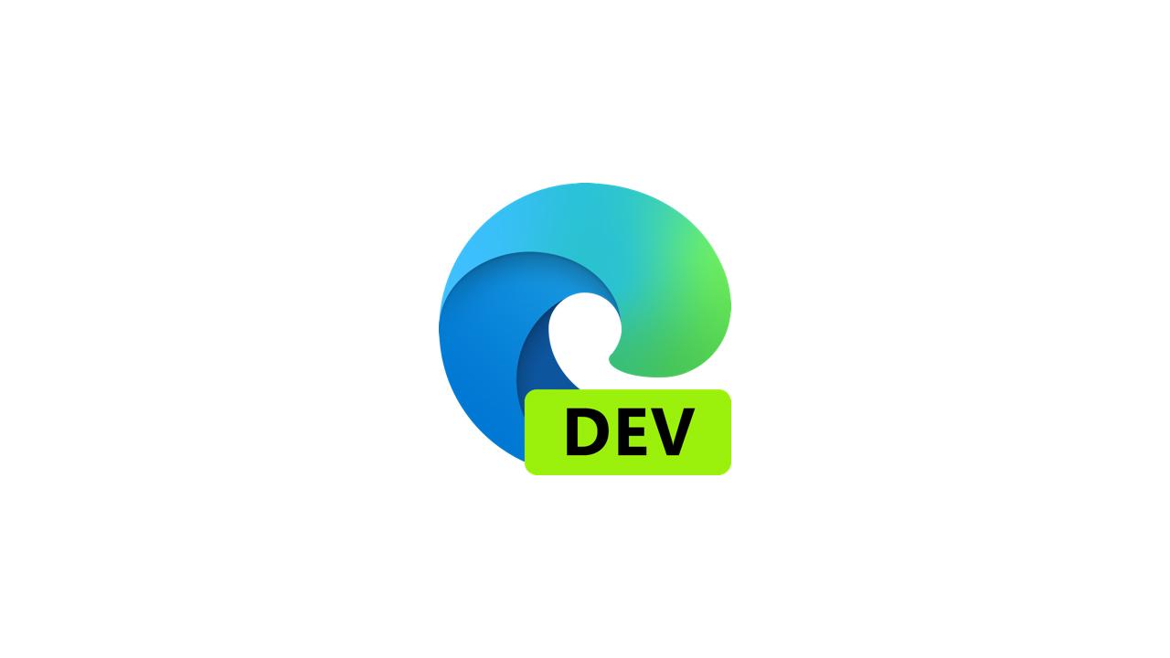 Выпущена сборка Microsoft Edge Dev 93.0.957.0