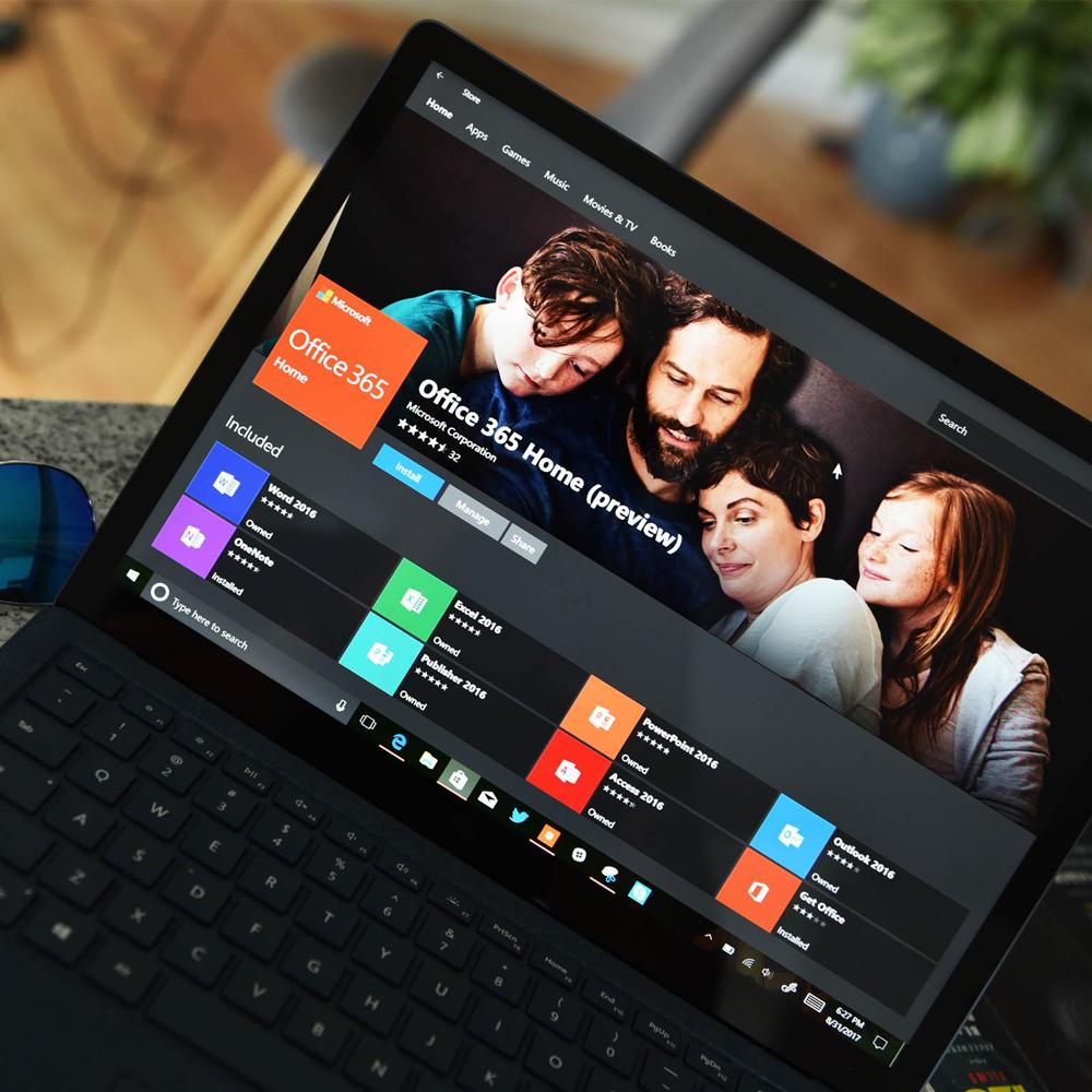 Microsoft Store для Windows 10 получил небольшое обновление дизайна