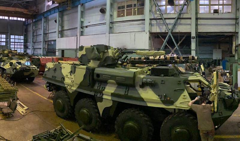 ВСУ продолжают получать бронетранспортёры БТР-4 из некачественной стали