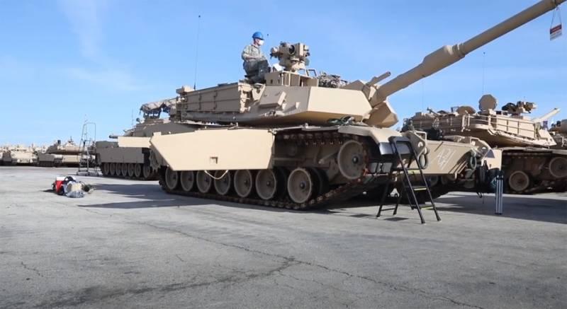 «M1 Abrams является лучшим основным боевым танком в мире» - в США представили новую программу обучения танкистов