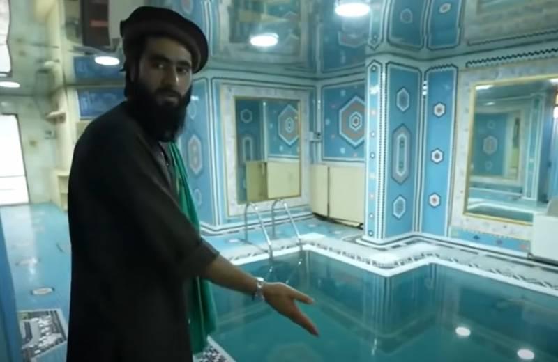 Зарубежная пресса об особняке Дустума: А многие солдаты «Талибана» впервые в своей жизни увидели центральное водоснабжение