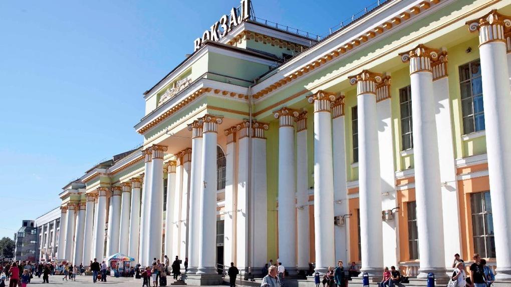 Железнодорожному вокзалу написали новый план реконструкции. Работы не могут начать больше 10 лет