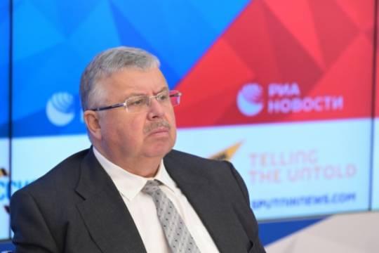 Чего желает бывший руководитель Федеральной таможенной службы Андрей Бельянинов, генсек «Ассамблеи народов Евразии»?