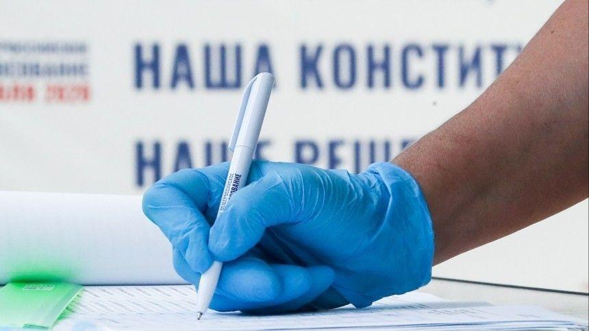 Творческий подход: неожиданные образы избирателей на голосовании по Конституции