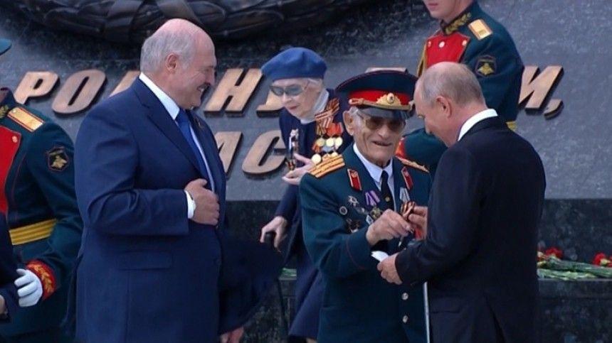 Ветеран рассказал, как получил автограф Путина