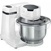 Кухонный комбайн Bosch MUMS2EW40: мясорубка, планетарный миксер, овощерезка, блендер и соковыжималка — и это только в базовой комплектации