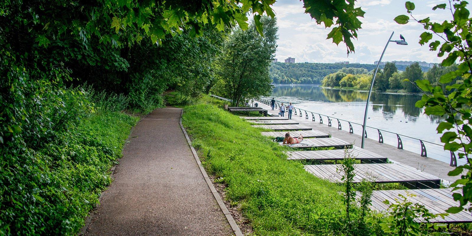 Вдоль Москвы-реки или у дворца императрицы: самые живописные беговые дорожки в парках