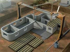 Роботизированный 3D-принтер Contour Crafting сможет строить дома за пару дней
