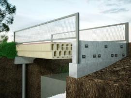 В Нидерландах построили 3D-печатный мост для велосипедистов