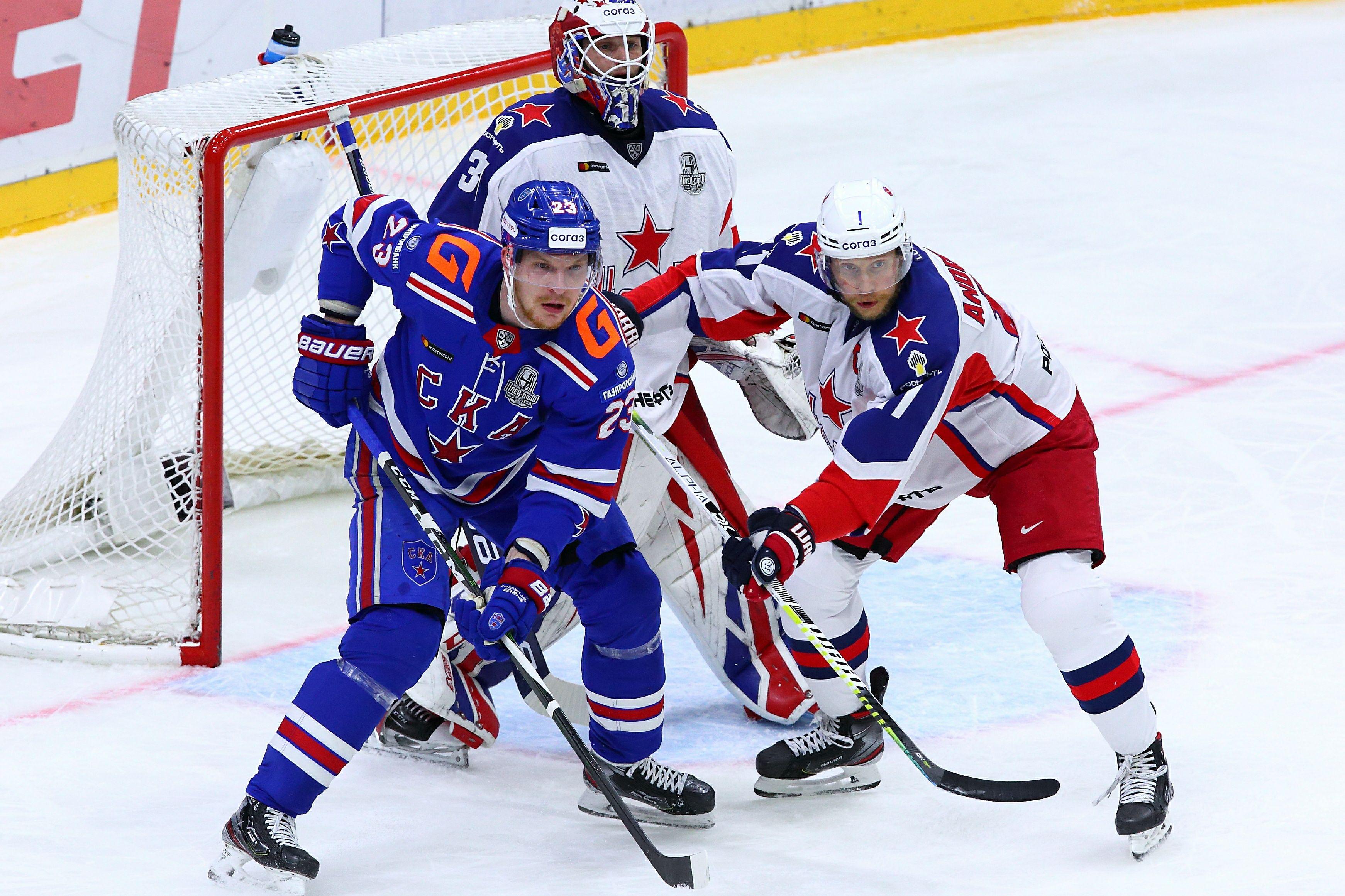Лысенков дал прогноз на матч плей-офф КХЛ между ЦСКА и СКА