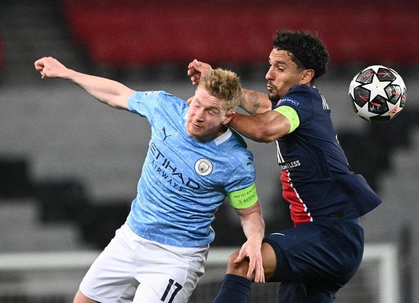 'Манчестер Сити' — 'ПСЖ': стартовые составы команд