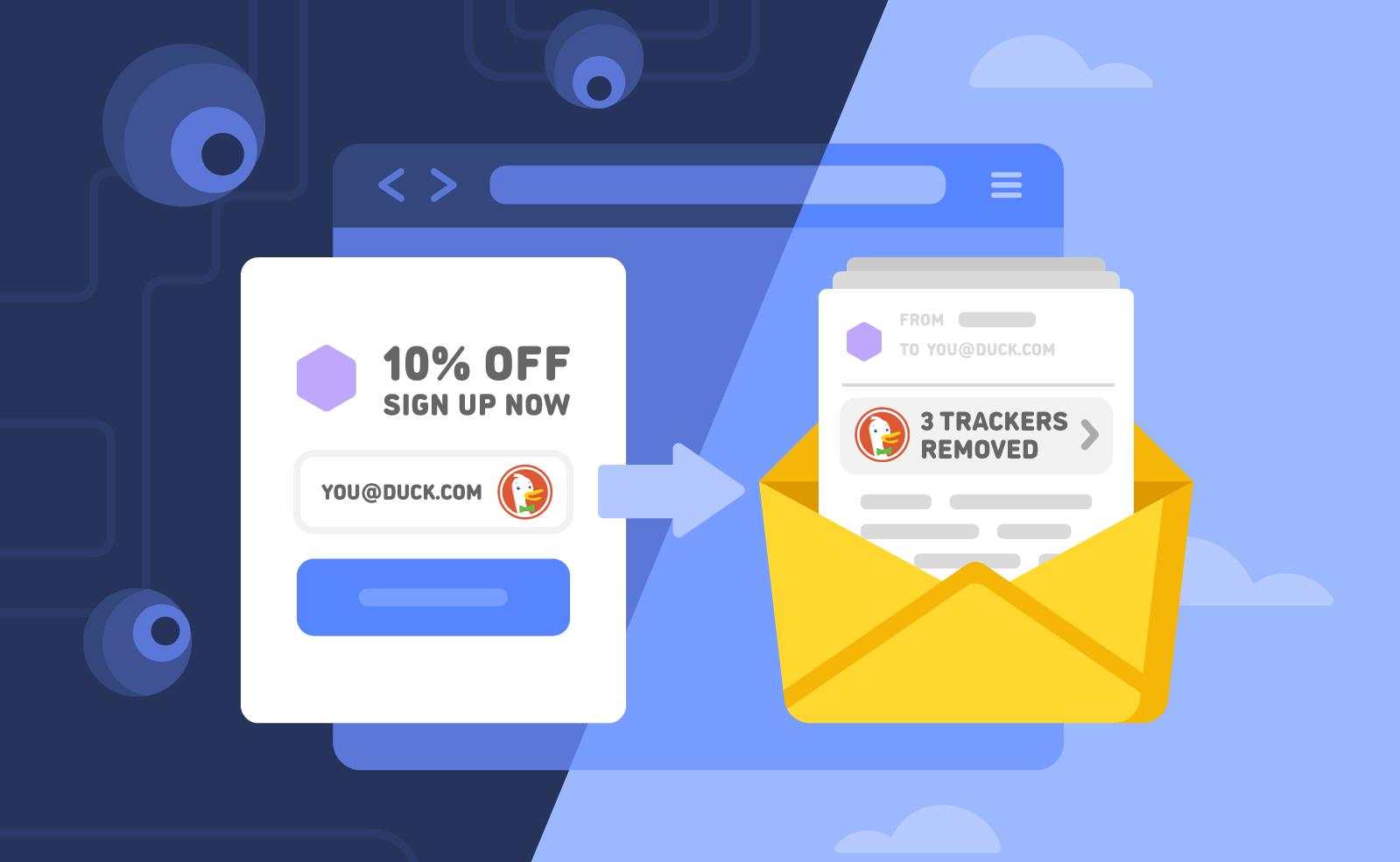 DuckDuckGo запустил почтовый сервис, помогающий избавиться от трекеров в письмах