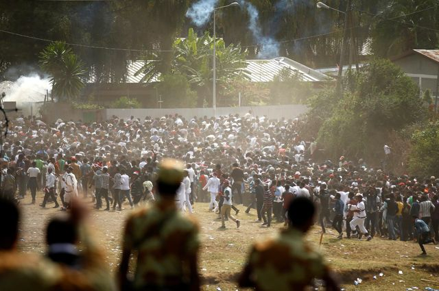 В Эфиопии 50 человек погибли в ходе беспорядков