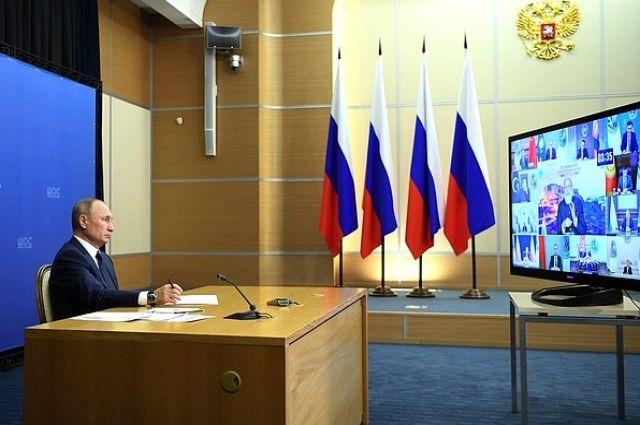 Путин рассказал лидерам G20 о трех российских вакцинах от COVID-19