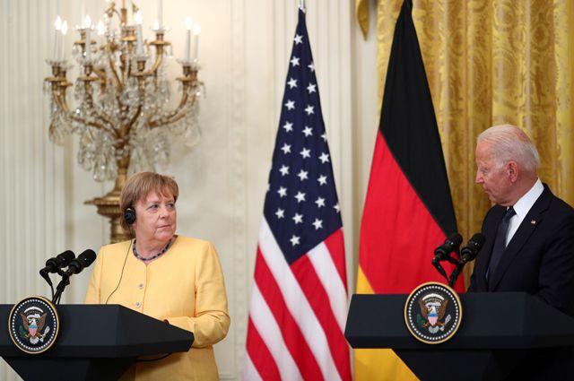 «Киев попросили не критиковать сделку». США и Германия договорились по СП-2