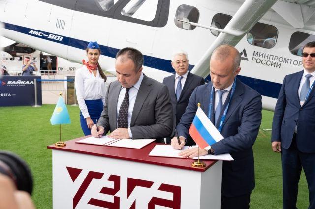 Конкурентный игрок. Казахстан подписал знаковые контракты на МАКС-2021