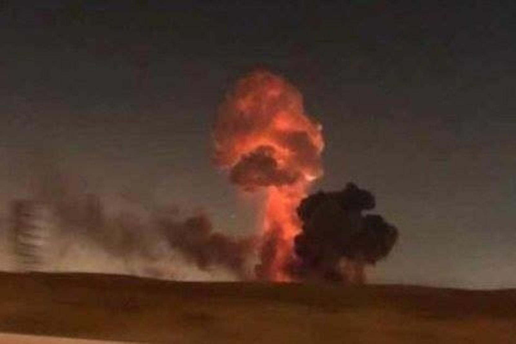 Минэнерго: Транзит газа в Казахстан прекращен после взрыва газопровода под Оренбургом