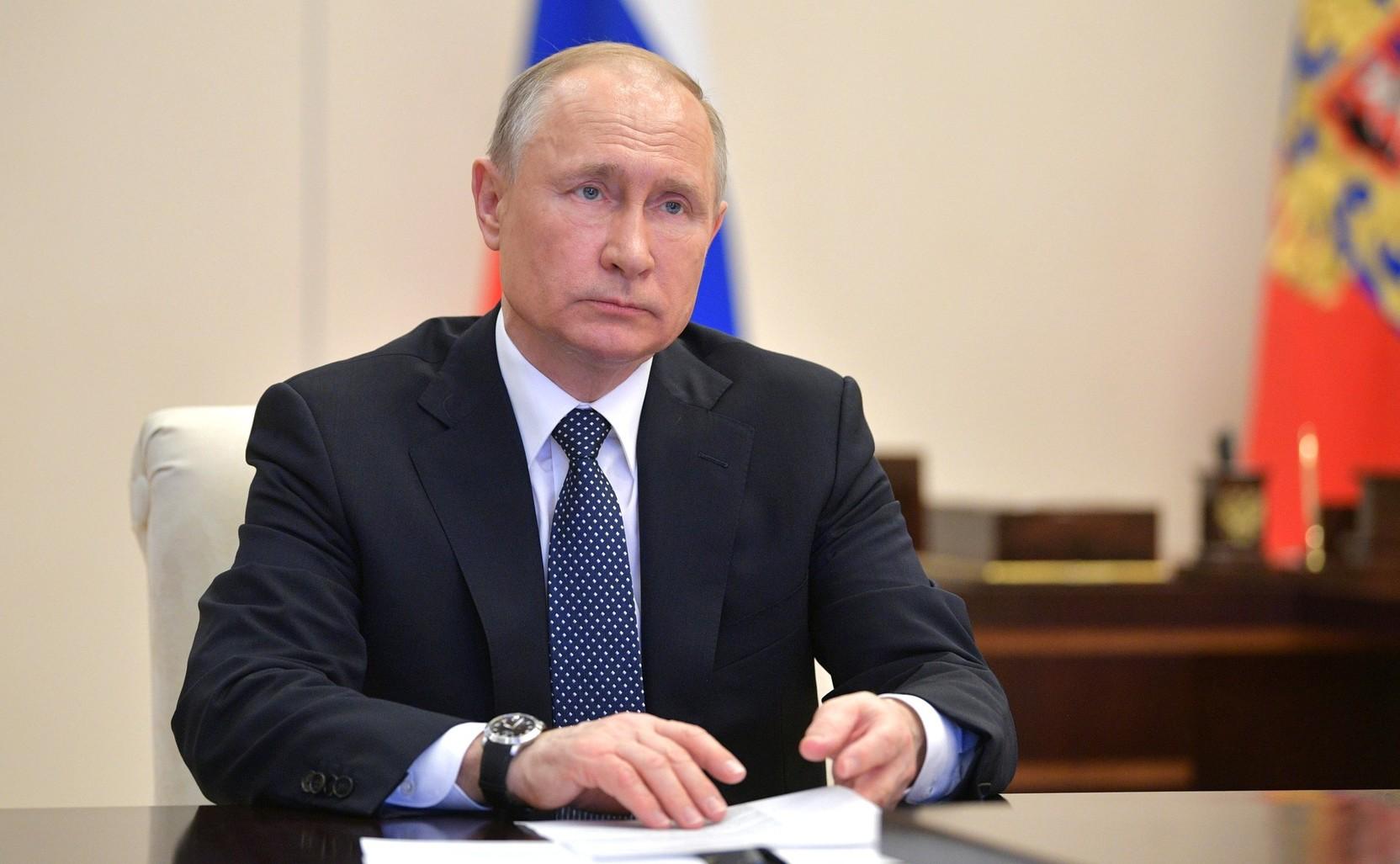 Путин назвал потери России от пандемии COVID-19 минимальными