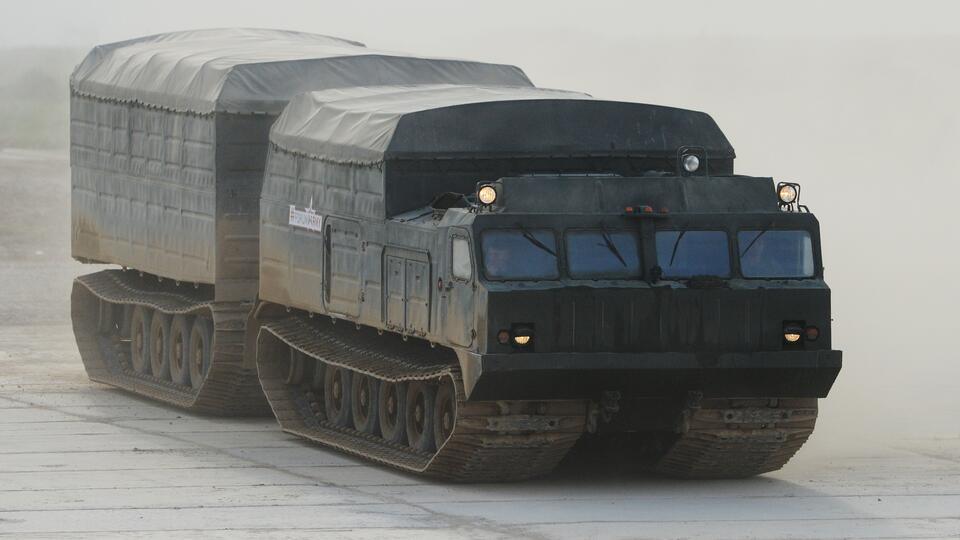 Вездеход ДТ-30 назвали геополитическим оружием России