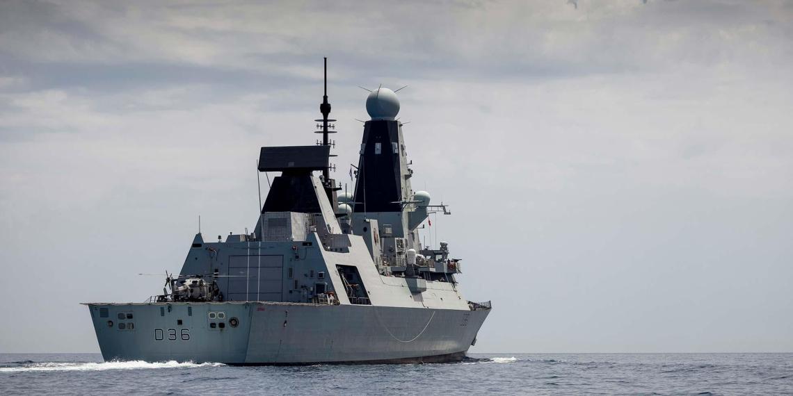 Нарушавший границы России у Крыма британский эсминец оказался единственным действующим в королевском флоте