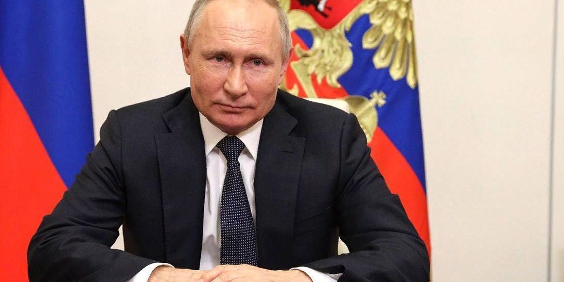 Путин подписал закон 'Единой России' о бесплатном подключении к газу частных домовладений