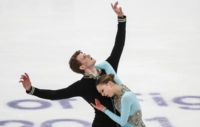 Бойкова и Козловский победили в соревновании спортивных пар на этапе Гран-при в Москве