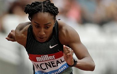Олимпийская чемпионка из США временно отстранена за допинг