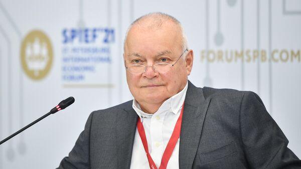 Киселев получил знак отличия 'За заслуги перед Москвой'