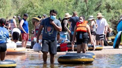 Аризона возвращается к режиму ограничений из-за коронавируса