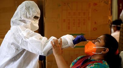 В Индии число случаев коронавируса превысило 5 млн