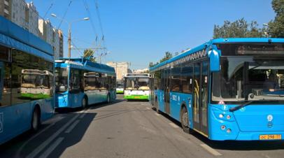 В Подмосковье назвали число поездок школьников и студентов на автобусах в 2021 году