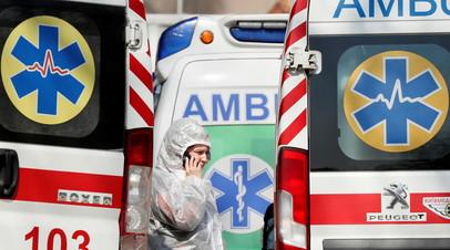 На Украине за сутки выявили 1603 случая коронавируса
