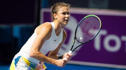 Вихлянцева проиграла Шарме во втором круге турнира WTA в Палермо