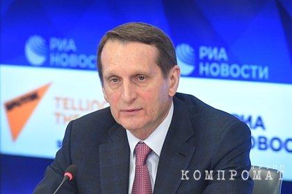 Директор Службы внешней разведки ответил на задержание россиян в Белоруссии