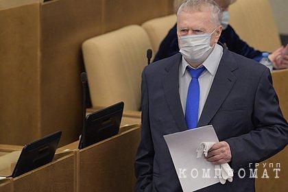 Начать ограничивать вес чиновников предложили с Жириновского